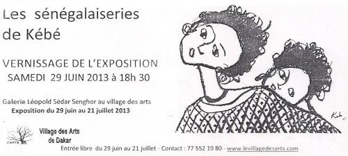Village des arts Dakar, Kebe, Sénégal,